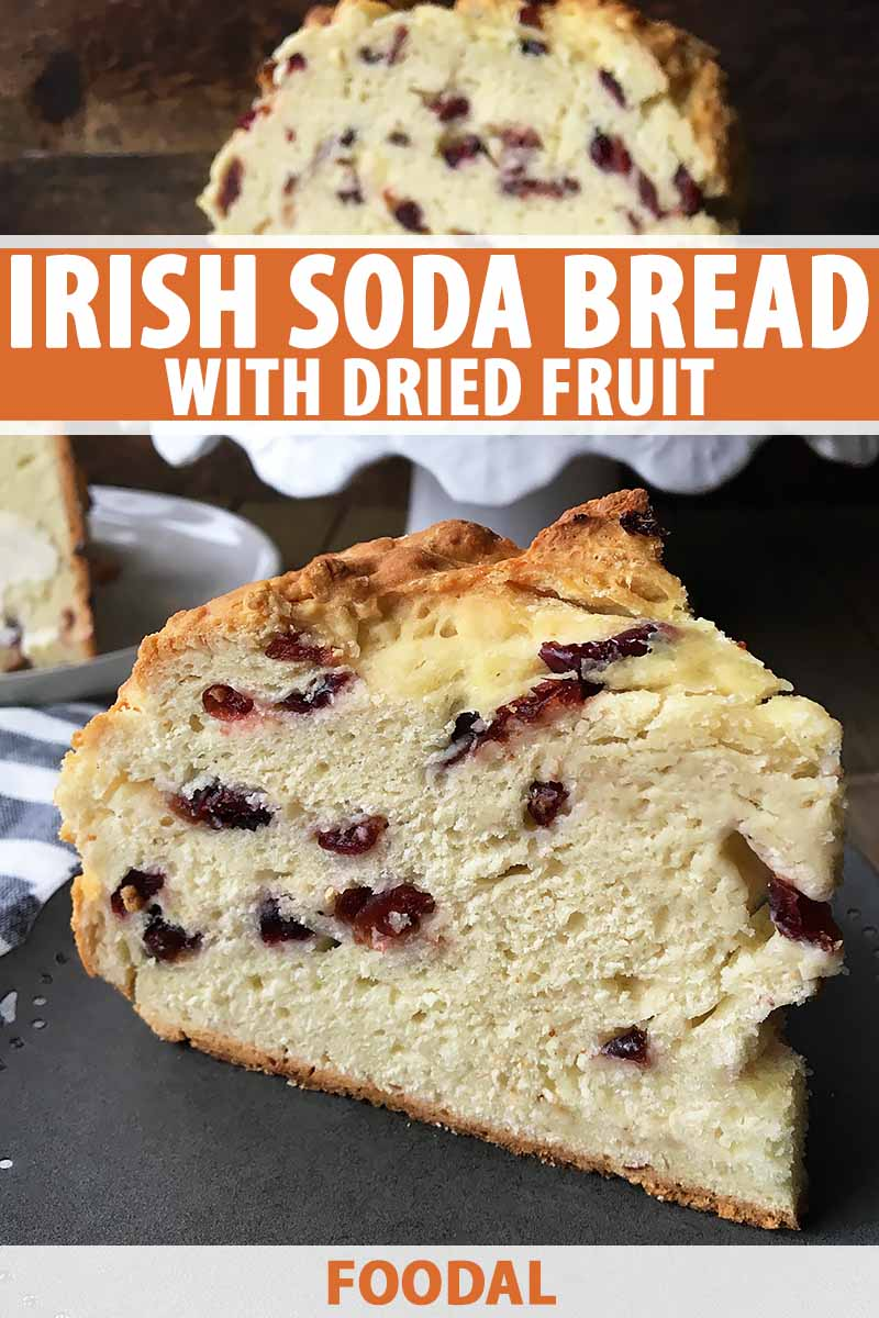 Easy Irish Soda Bread With Dried Fruit Recipe Foodal