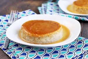 Celebrate Cinco De Mayo with Coconut Milk Mexican Flan (Dairy Free)