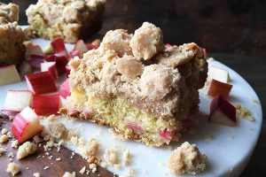 Big-Crumb Rhubarb Coffee Cake
