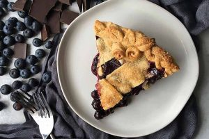 Dark Chocolate Blueberry Pie: An Indulgent Upgrade of a Classic Dessert