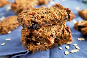 Satisfy Your Hunger with Gluten-Free Blueberry Pecan Oat Bars