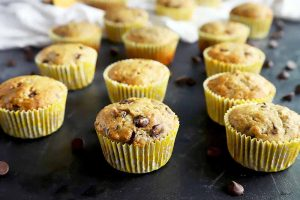 Easy Banana Chocolate Chip Muffins