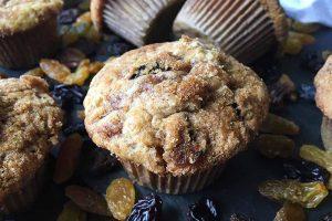Cinnamon Raisin Swirl Muffins