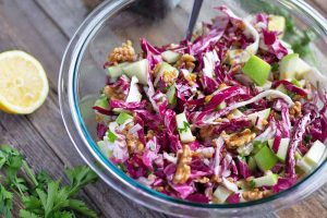 Einkorn Salad with Radicchio and Walnuts