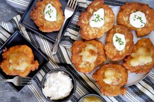 Kartoffelpuffer: German Potato Pancakes for Oktoberfest