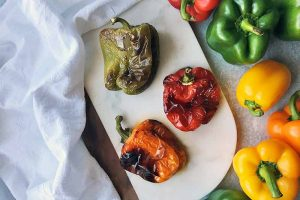 How to Roast Peppers with Three Easy Methods
