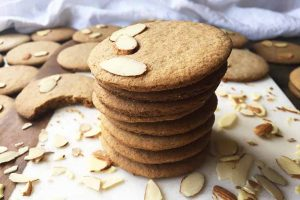 Spiced Spelt Flour Almond Wafers: The Perfect Cookies for Fall