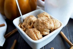 It's All About Pumpkin Cinnamon Ice Cream This Fall