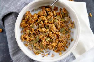 You Need Pumpkin Spice Granola In Your Life This Fall