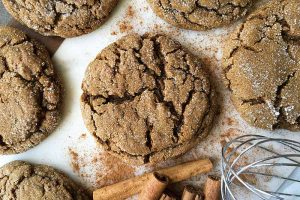 Sink Your Teeth Into Big and Soft Ginger Cookies