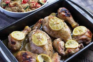 Brighten Up Dinner with Citrus Roasted Chicken