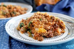 A Lightened-Up, Healthy Quinoa Casserole Recipe