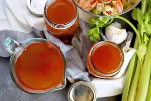Easy Homemade Seafood Stock