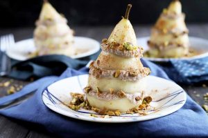 Ricotta Pear Stacks: A Raw Dessert That's Anything But Boring