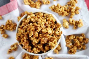 Caramel Coated Popcorn Is the Ultimate Salty-Sweet Treat