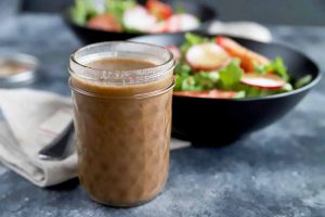 Make Homemade Creamy Honey Balsamic Dressing in 5 Minutes or Less