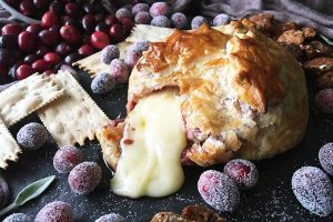 Brie en Croute with Cranberry Jam: An Edible Present Everyone Will Want to Open