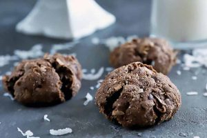 Gluten-Free Nutty Chocolate Coconut Cookies