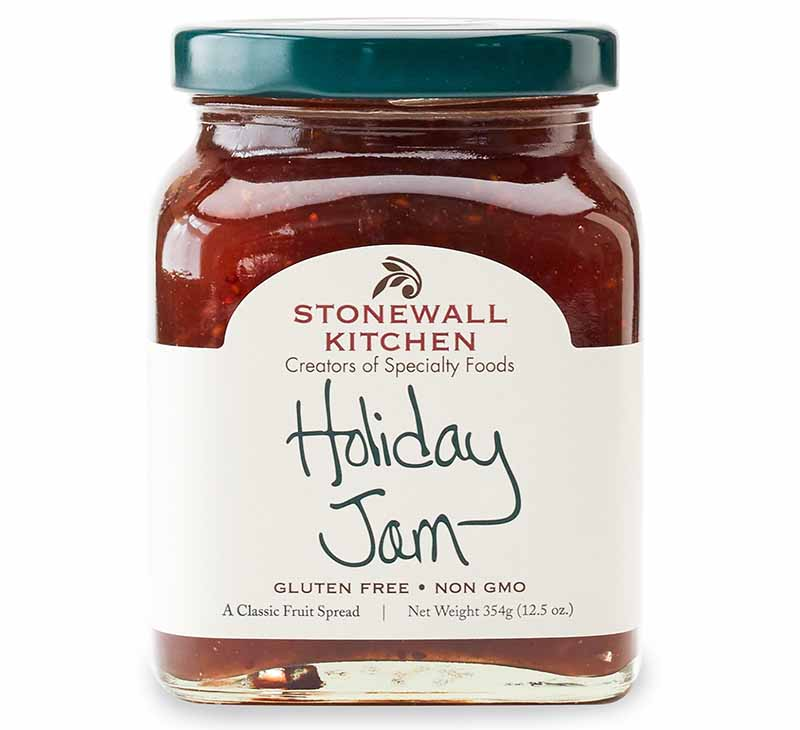 Square image of a Stonewall Kitchen Holiday Jam.