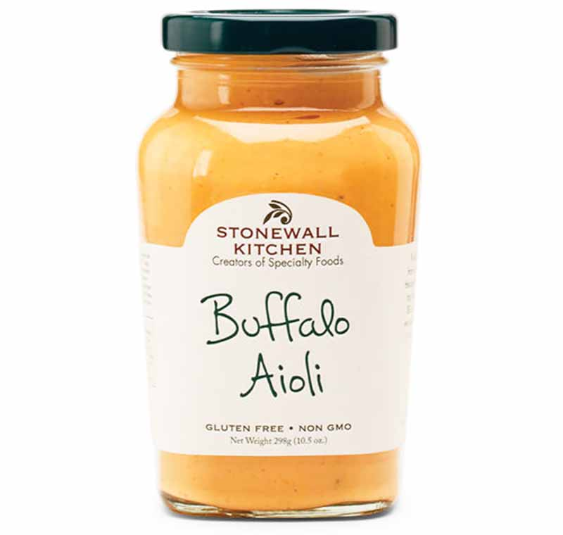 Image of a jar of Buffalo Aioli from Stonewall Kitchen.
