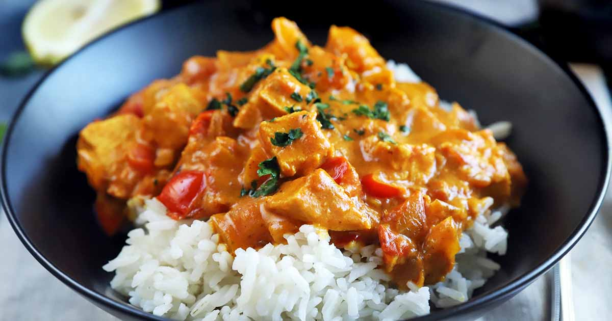 30 Minute Chicken Tikka Masala Recipe Dairy Free Foodal