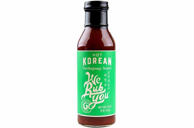 Image of We Rub You's Hot Korean Gouchujang Sauce.