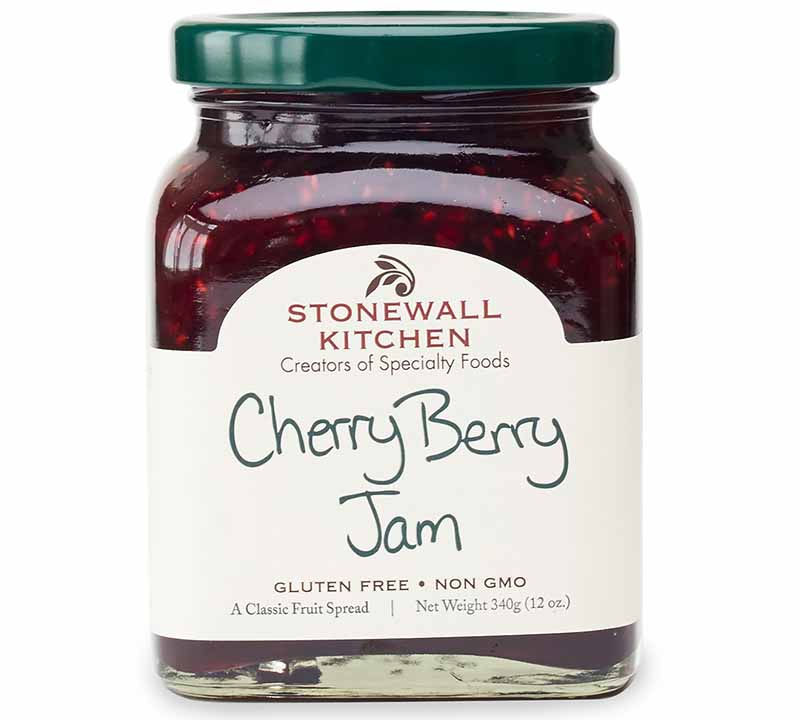 Image of Stonewall Kitchen's cherry berry jam.