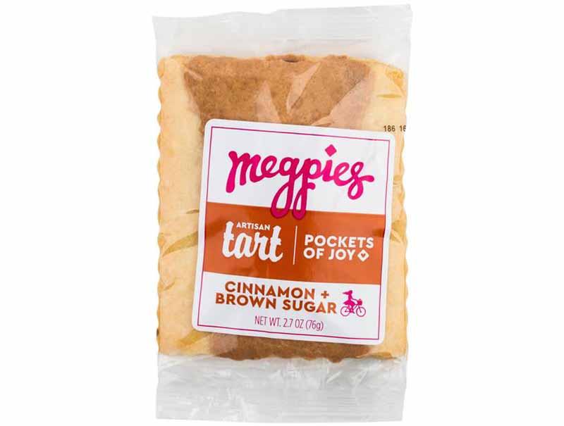 Image of a bag of Megpies Cinnamon Brown Sugar Artisan Tart.