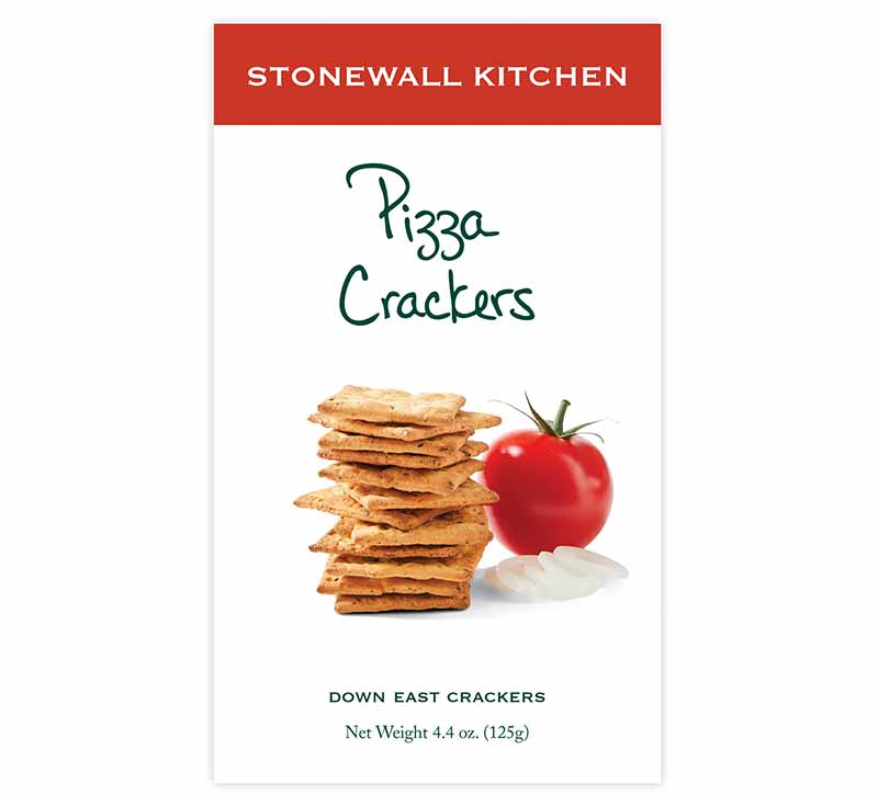 Image of Stonewall Kitchen's pizza crackers.