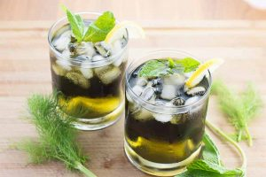 Fennel Nettle Iced Tea