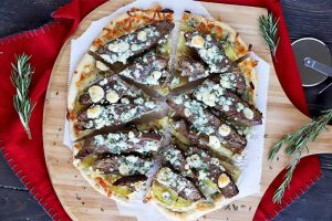 A New Take On a Classic Combo: Steak and Potato Pizza