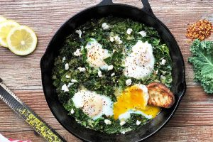 Kale and Eggs: Nutritious and Satisfying for Breakfast or Brunch