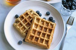 Spelt Belgian Waffles Are Fluffy and Delicious