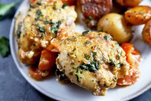 Take the Family to France with Poulet Saute a la Paysanne Provencale