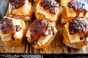 Ham and Cheese Sliders for Game Day