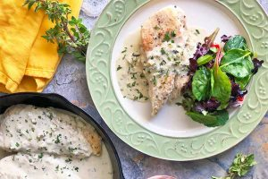 30-Minute Chicken with Creamy Mustard Sauce