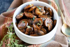 Flavorful Sauteed Mushrooms Are a Steak Night Staple