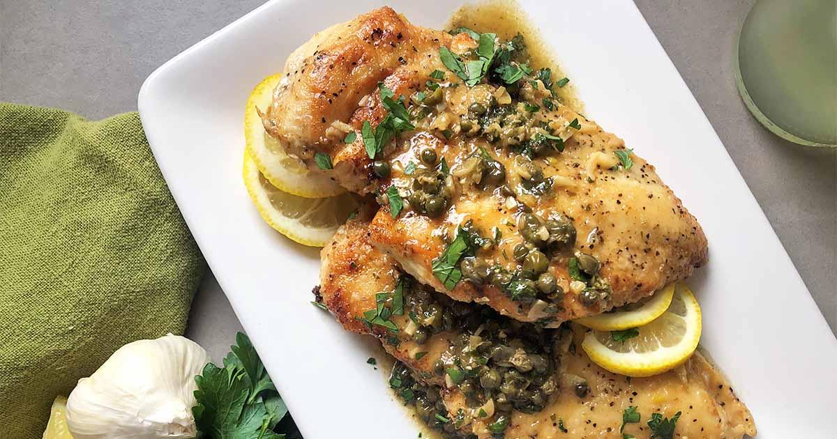 Chicken Piccata Recipe Foodal