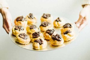Einkorn Cream Puffs