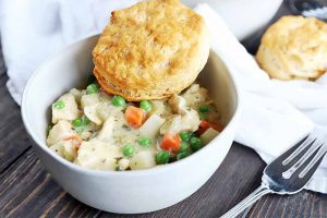 No-Fuss Slow Cooker Chicken Pot Pie