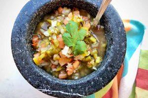 Homemade Lacto–Fermented Salsa