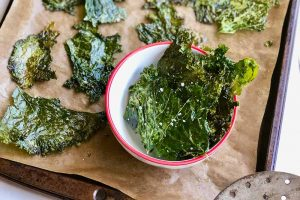 Mustard Greens Chips for Healthy Snacking