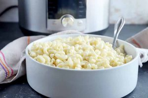 How to Make Elbow Macaroni in the Electric Pressure Cooker