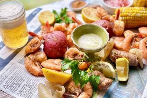 Low Country Boil with Homemade Seasoning Mix
