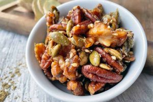 Maple-Spiced Nuts and Seeds for Snacking