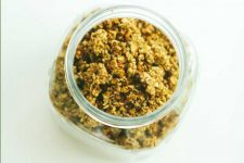6-Cup Grainfree Granola Sweetened with Sorghum Syrup