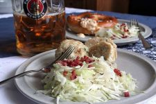 Bavarian Cabbage Salad with Bacon Recipe - Cover | Foodal.com