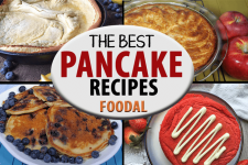 A collage of of different types of pancake recipes | Foodal