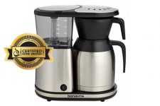 Bonavita BV1900TS 8-Cup Carafe Coffee Brewer Review | Foodal.com