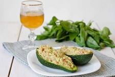 Crab and Mango Stuffed Avocado Halves | Foodal.com